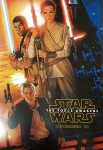 disney lucasfilm star wars force réveil awakens poster affiche