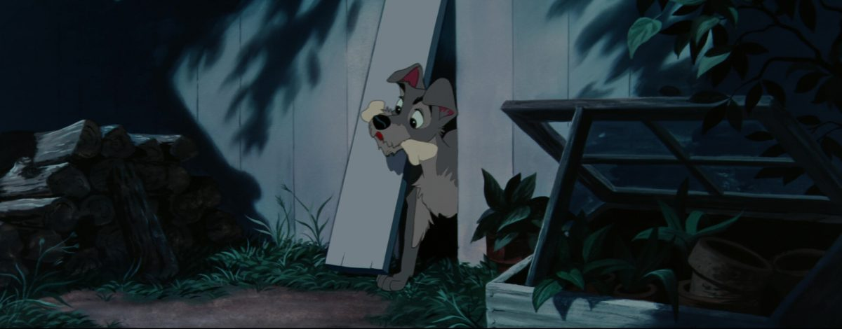 la belle et le clochard lady and the tramp tramp chien dog disney animation personnage character
