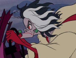 cruella d'enfer de vil personnage character 101 dalmatiens dalmatians disney animation