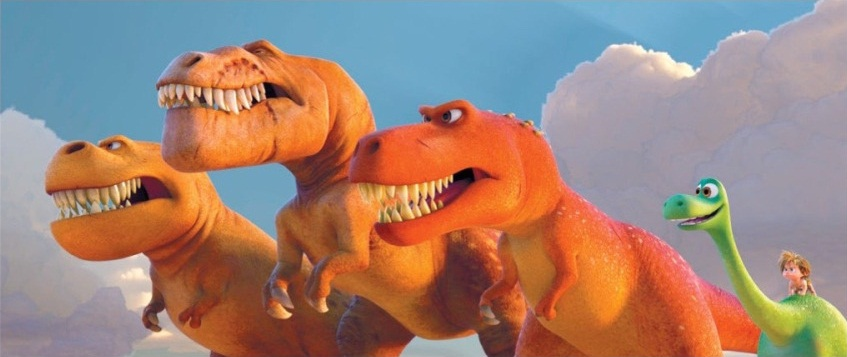 pixar disney good dinosaur voyage arlo artwork