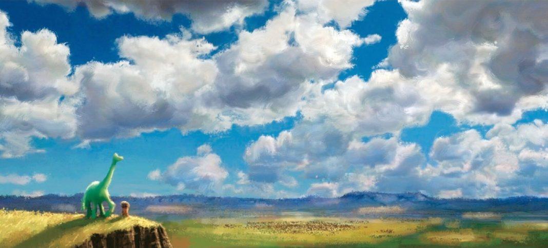 pixar disney good dinosaur voyage arlo artwork