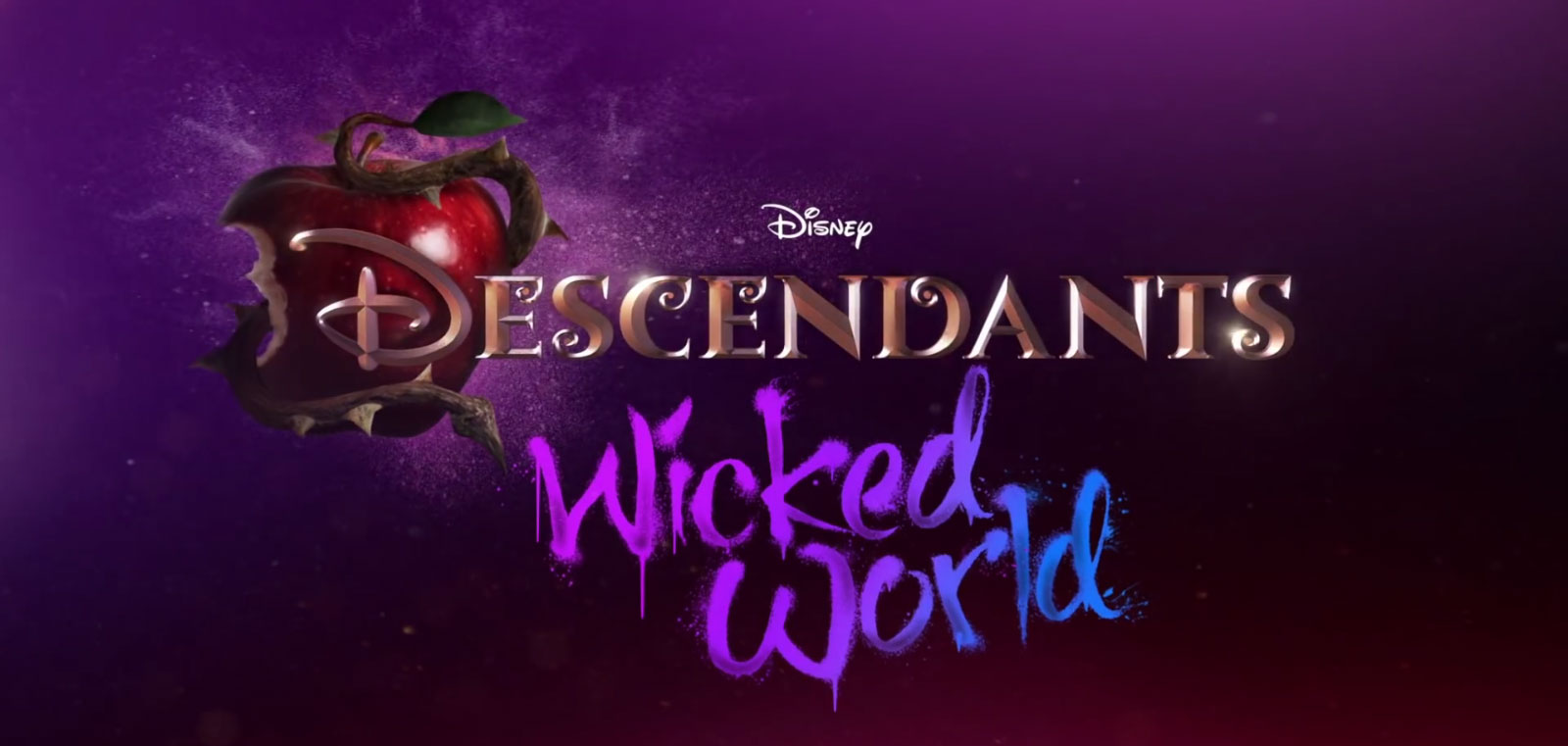 descendants wicked world logo disney channel