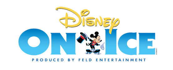 logo disney on ice sur glace