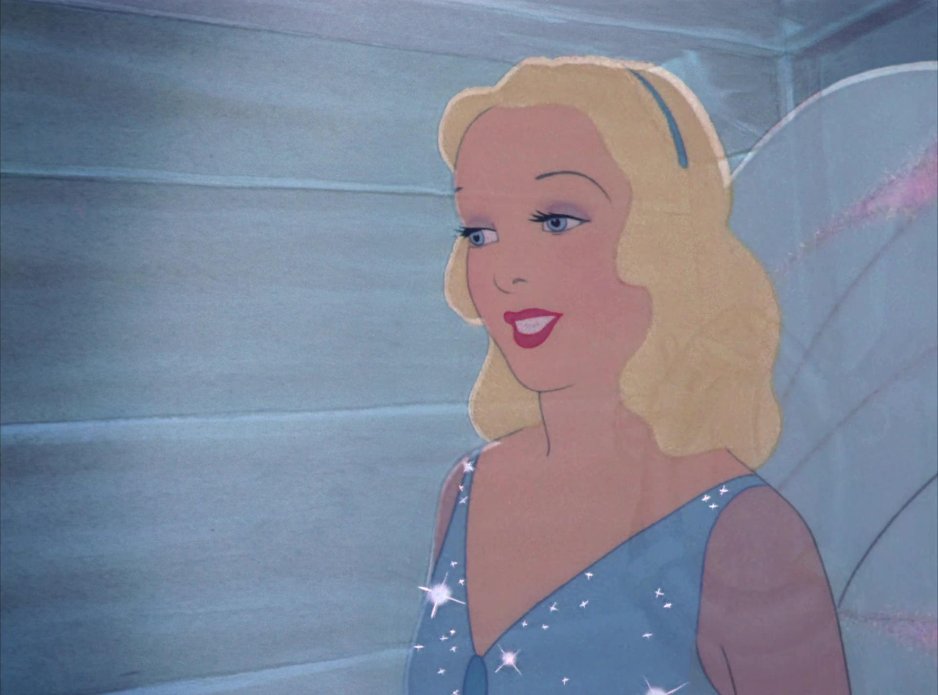 fée bleue blue fairy disney personnage character pinocchio