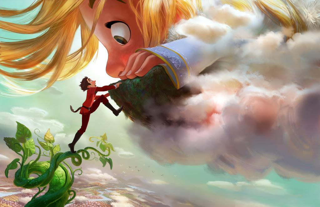 gigantic disney artwork