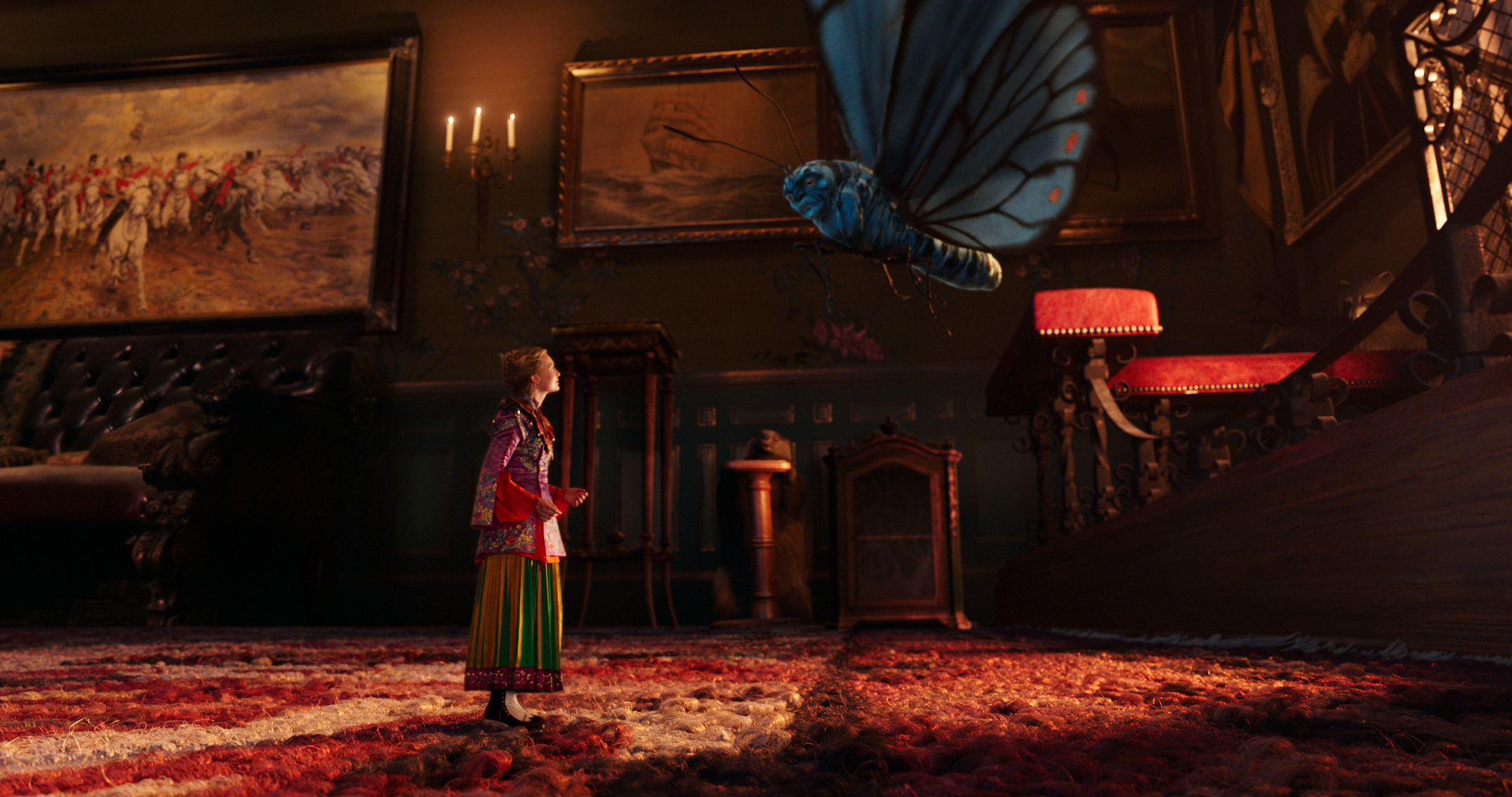 disney alice de l'autre côté du miroir through looking glass