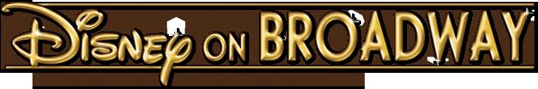 logo disney on broadway