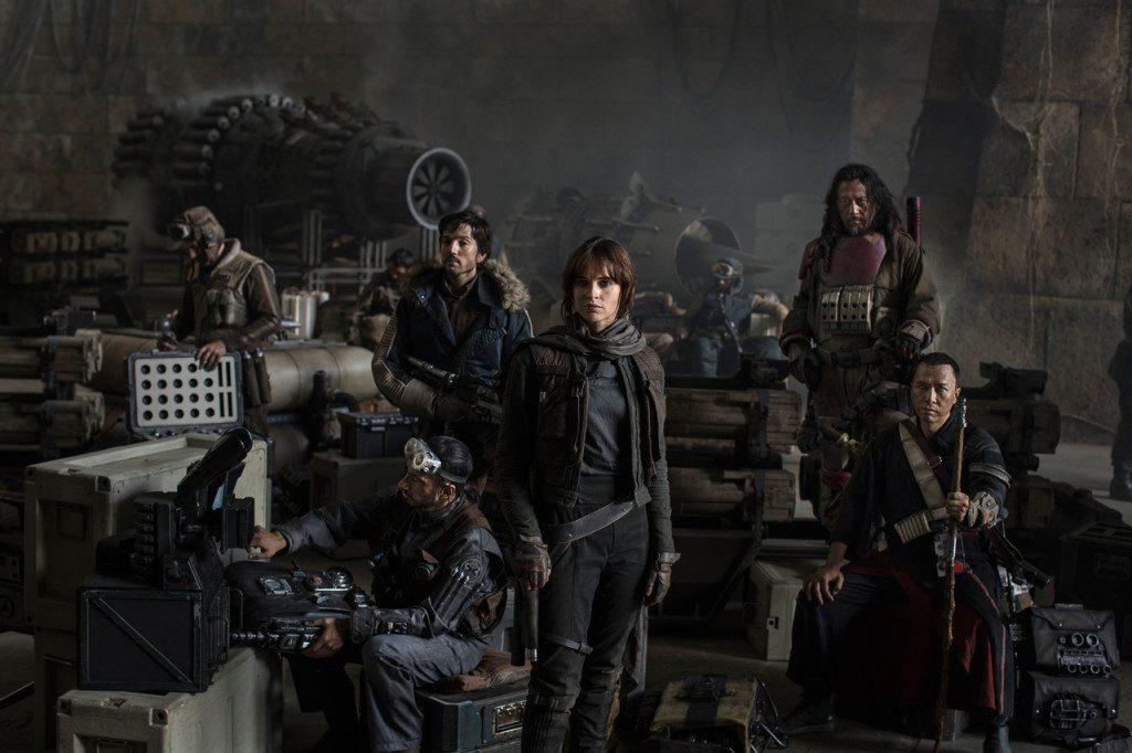 star wars rogue one disney cast lucasfilm