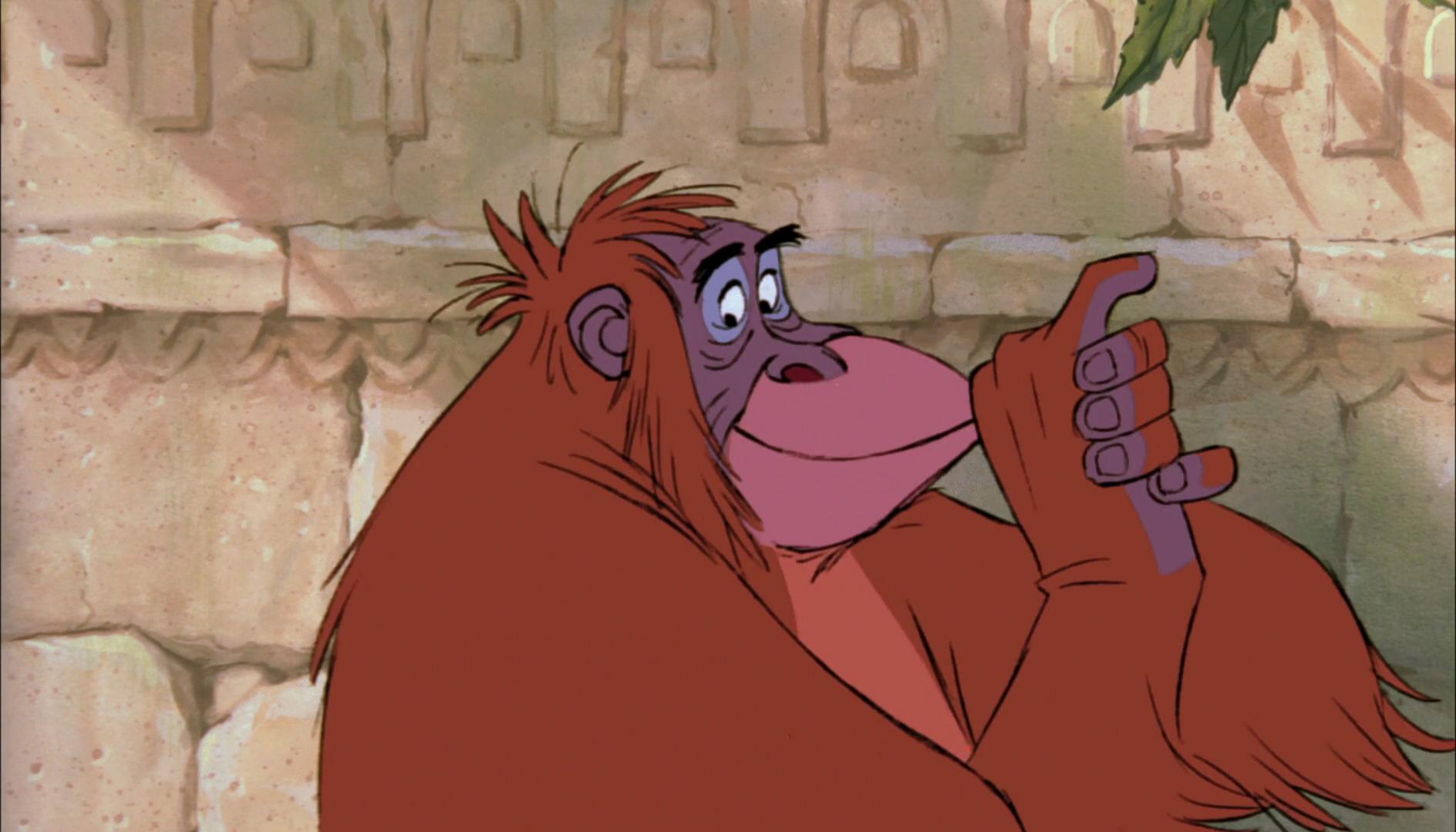 roi louie king personnage livre jungle book disney character