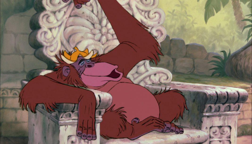 roi louie personnage livre jungle disney film