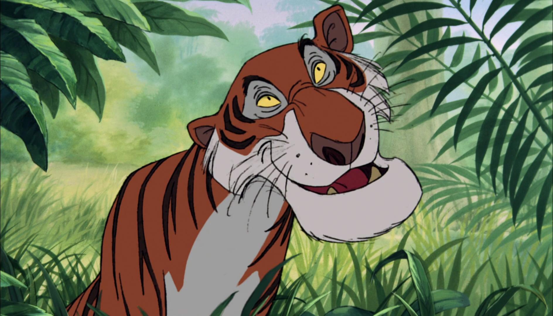 Shere Khan Personnage Dans Le Livre De La Jungle Disney