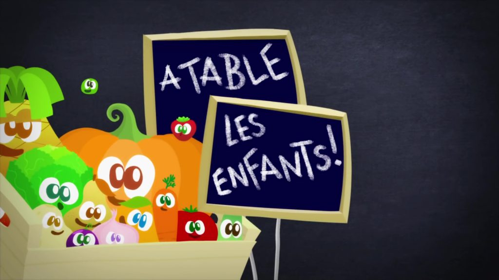 Illustration A table les enfants Disney Disney Channel