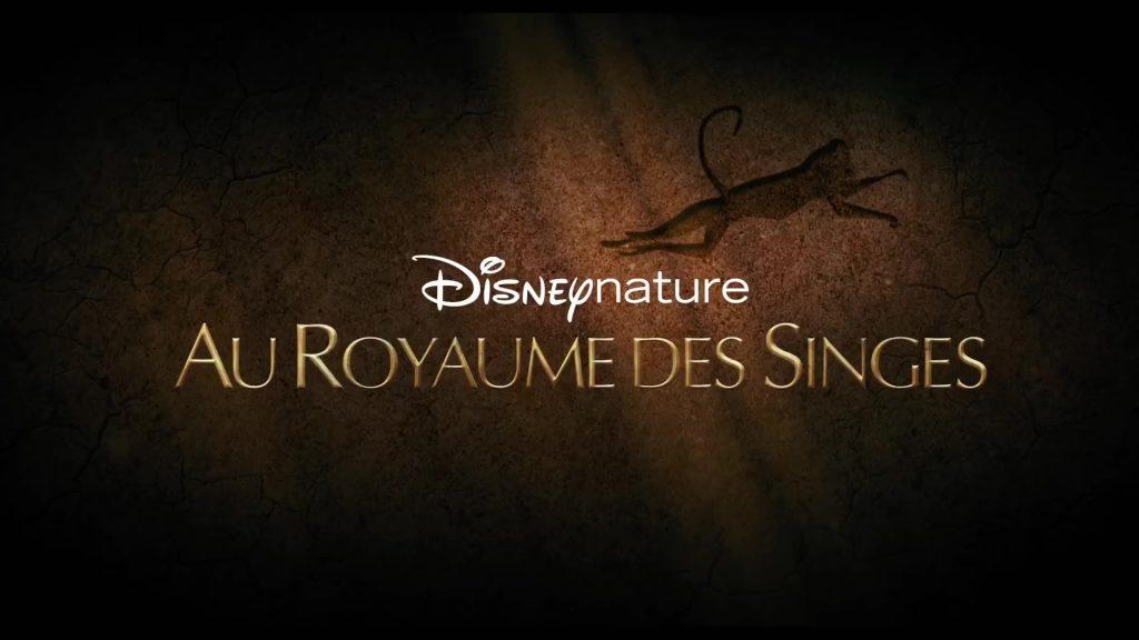 au royaume des singes Disney Nature