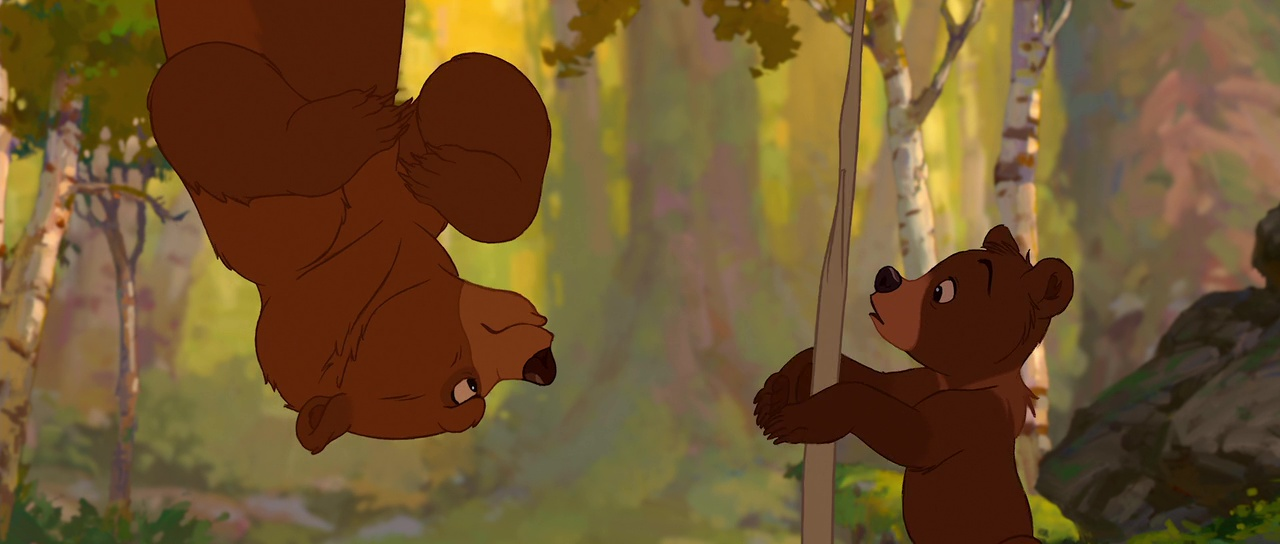 Disney Faux raccord frere des ours