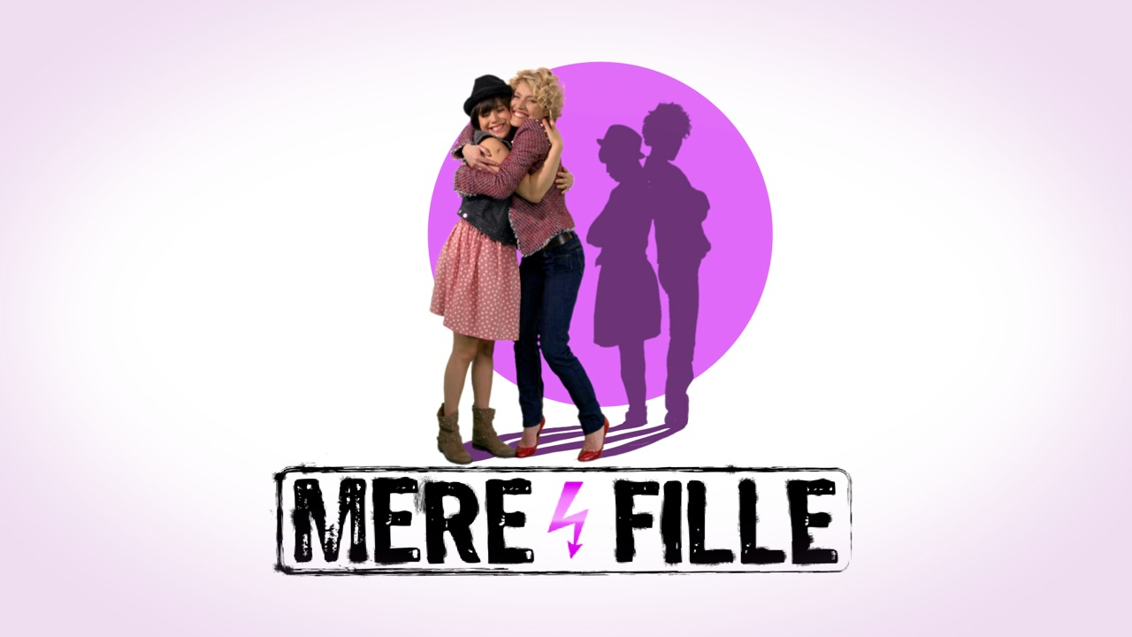 Illustration mère et fille california dream