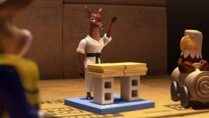 Toy story toon : Mini Buzz Tae-kwon-doe