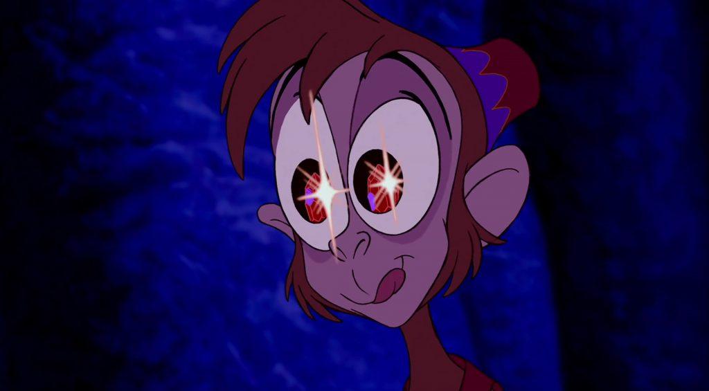abu singe monkey personnage character aladdin disney animation