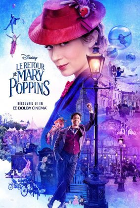Affiche Poster mary poppins retour returns disney