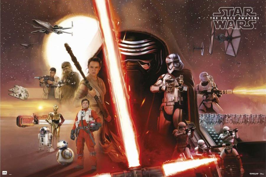 affiche Star Wars VII