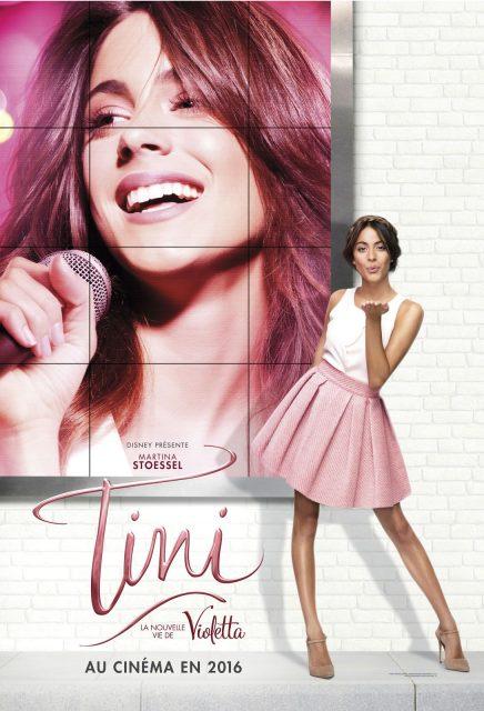 Affiche poster tini nouvelle vie violetta movie new life disney