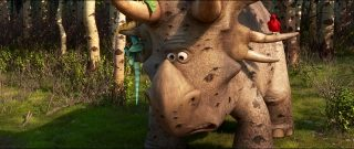 Forrest Woodbush collectionneur personnage character pixar disney voyage arlo good dinosaur