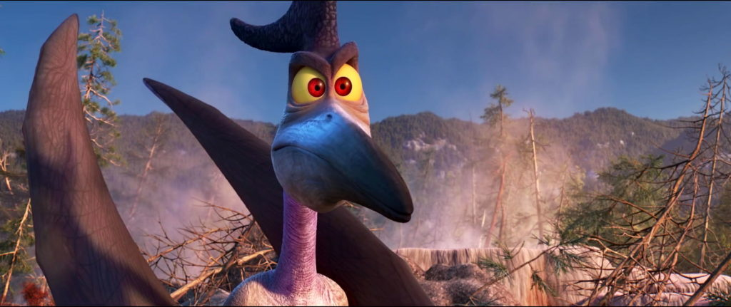 coup de tonnerre thunderclap  personnage character pixar disney voyage arlo good dinosaur