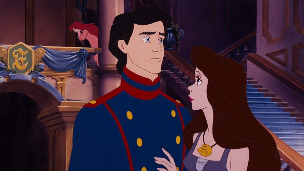 prince eric disney personnage character animation la petite sirène the little mermaid