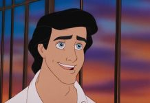 prince eric disney personnage character animation la petite sirène the little mermaid