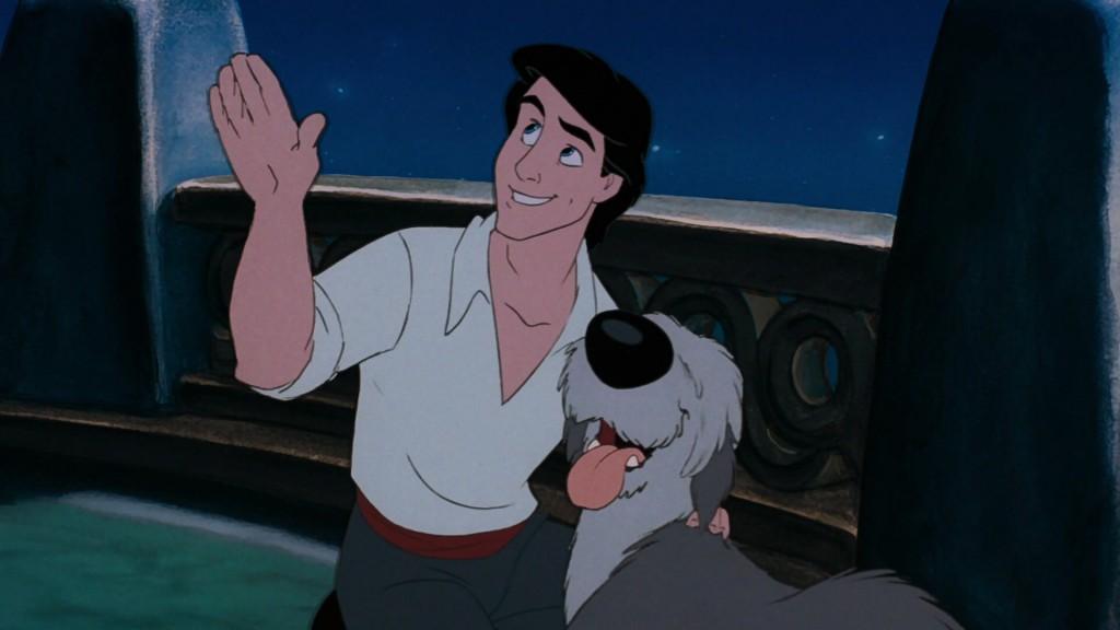 prince eric personnage petite sirene disney film