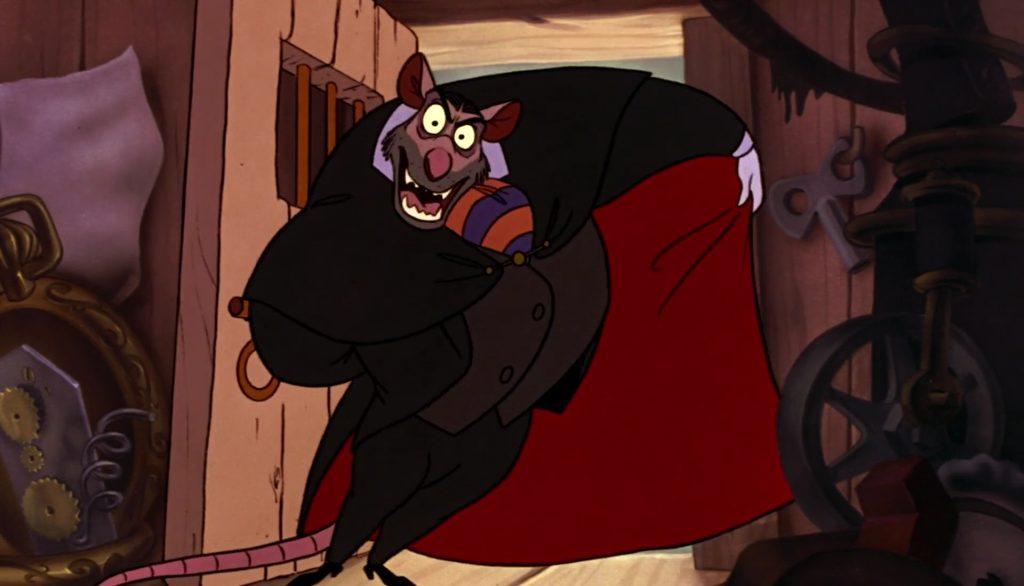 professeur professor ratigan basil detective prive great mouse disney