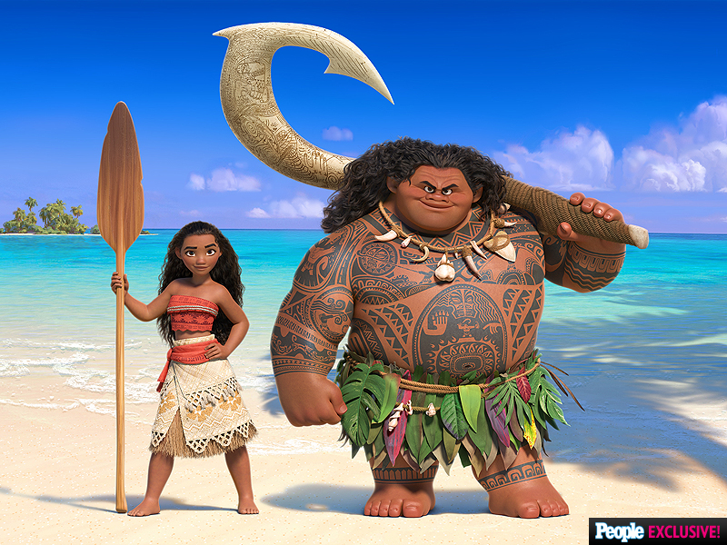 Actu Moana First look Disney La princesse du bout du monde