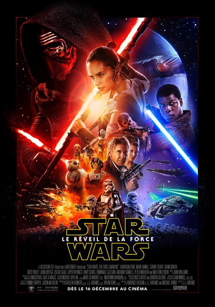 star wars vii 7 réveil force awaken affiche poster disney lucasfilm
