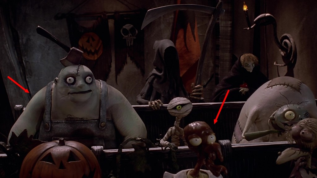 Faux raccord Disney l'etrange noel de monsieur jack