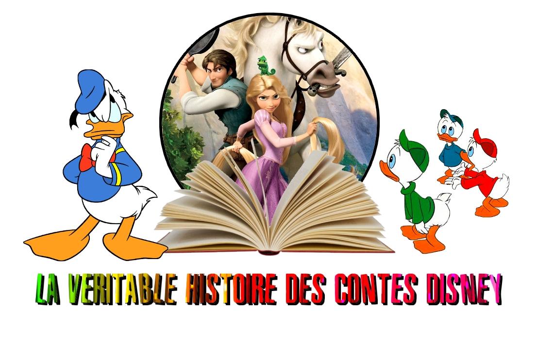 La véritable histoires des contes disney - Raiponce