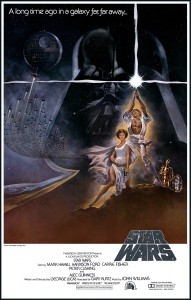 Star wars IV affiche