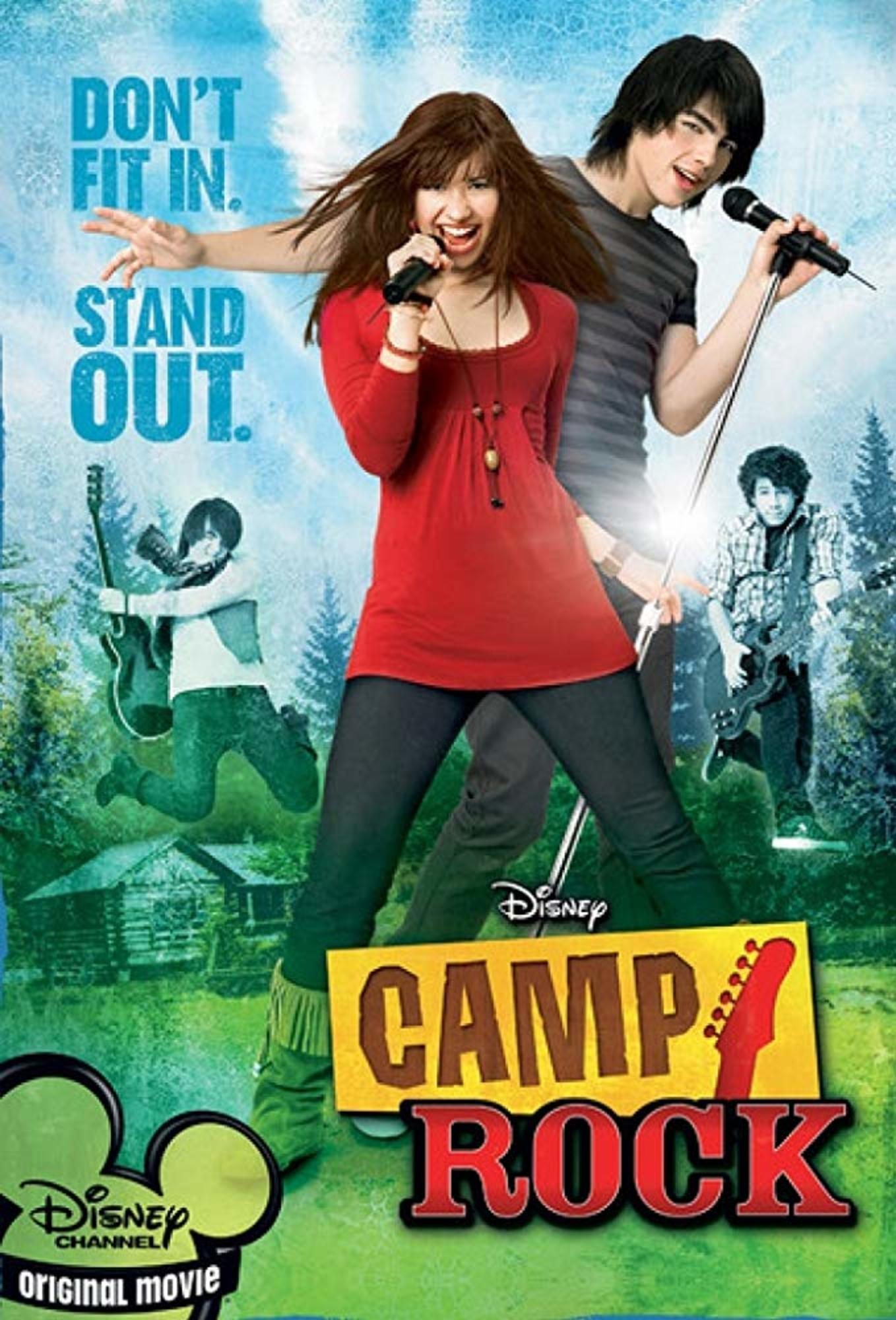 affiche poster camp rock disney channel
