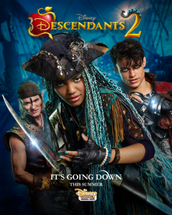 affiche descendants 2 poster disney channel