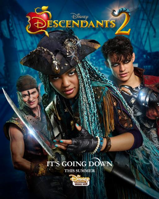 affiche descendants 2 poster disney channel