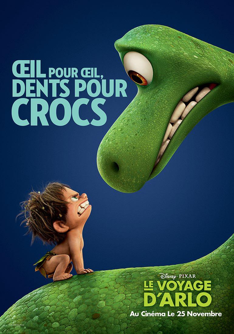 Arlo : Oeil pour oeil, dents pour crocs