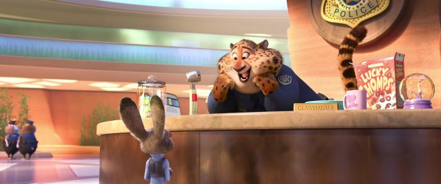 benjamin clawhauser disney personnage character zootopie zootopia