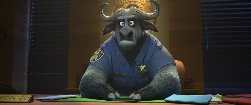 chef chief bogo disney personnage character zootopie zootopia
