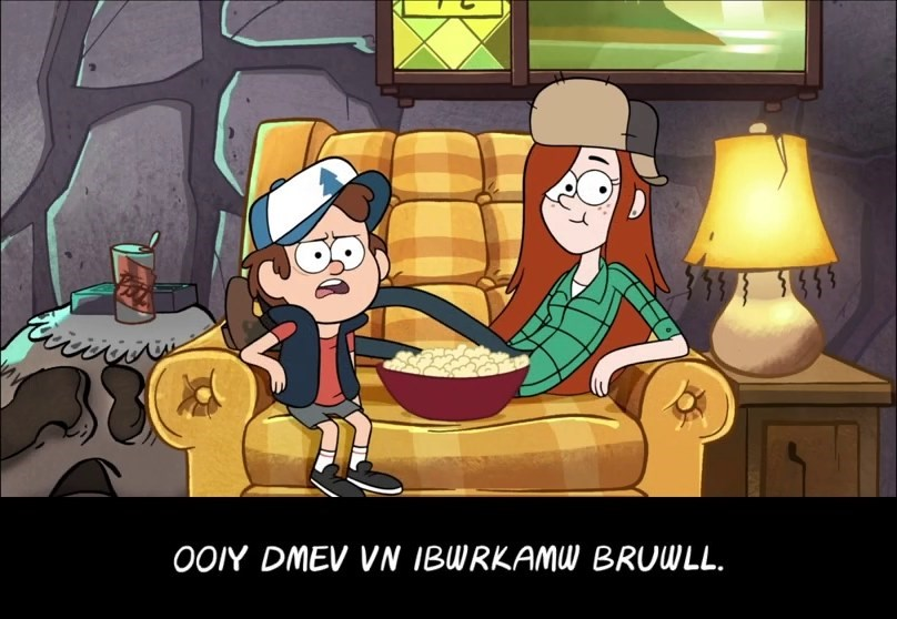 Disney disney channel disney xd message code souvenir de gravity falls saison 01