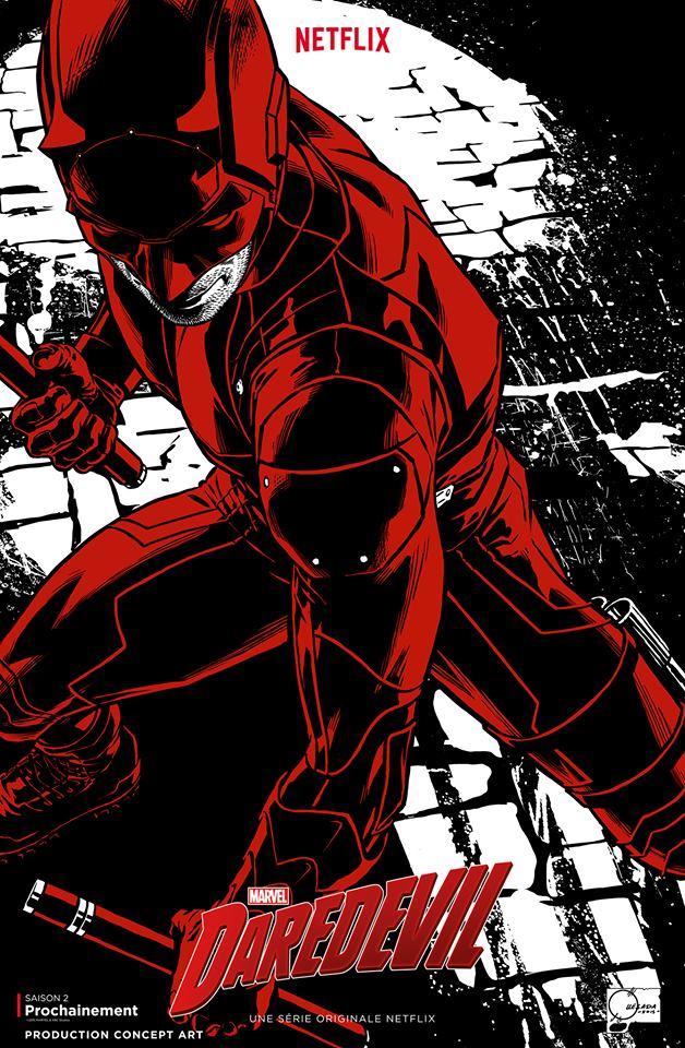 Concept Art Saison 2 Daredevil