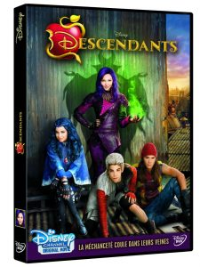disney channel descendants dvd