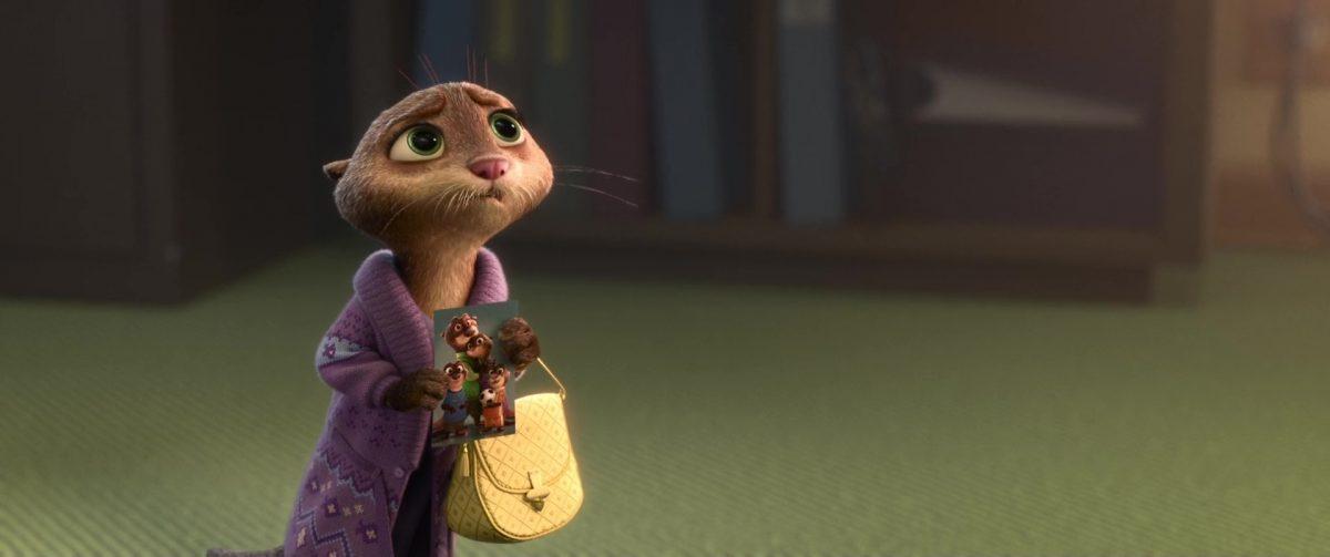 madame mrs otterton disney personnage character zootopie zootopia