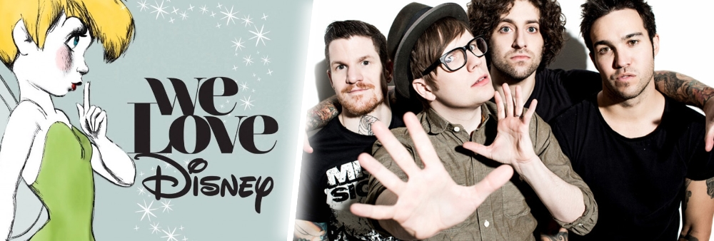 fall out boy disney we love disney actu