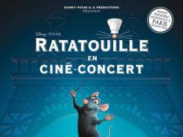 pixar disney affiche ratatouille ciné concert