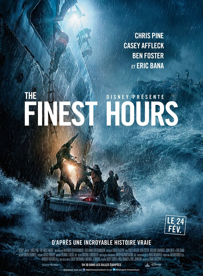 actu disney affiche française the finest hours