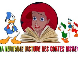 La veritable histoires des contes disney - La petite sirene