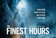 Affiche Poster finest hours disney